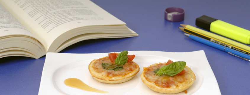 Tuna and white wine vinegar Mini-Pizzas